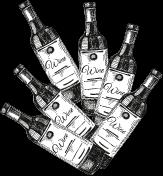 6 Flaschen Wein