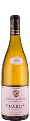 Domaine Jean Goulley Chablis 2018 - FR-BIO-01